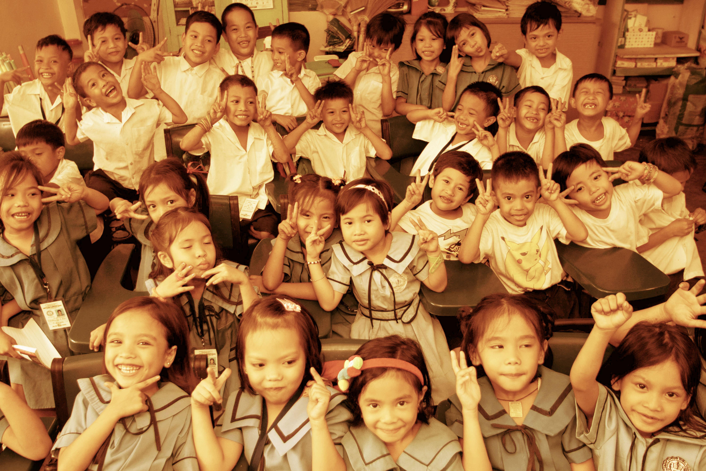 The Philippines street children