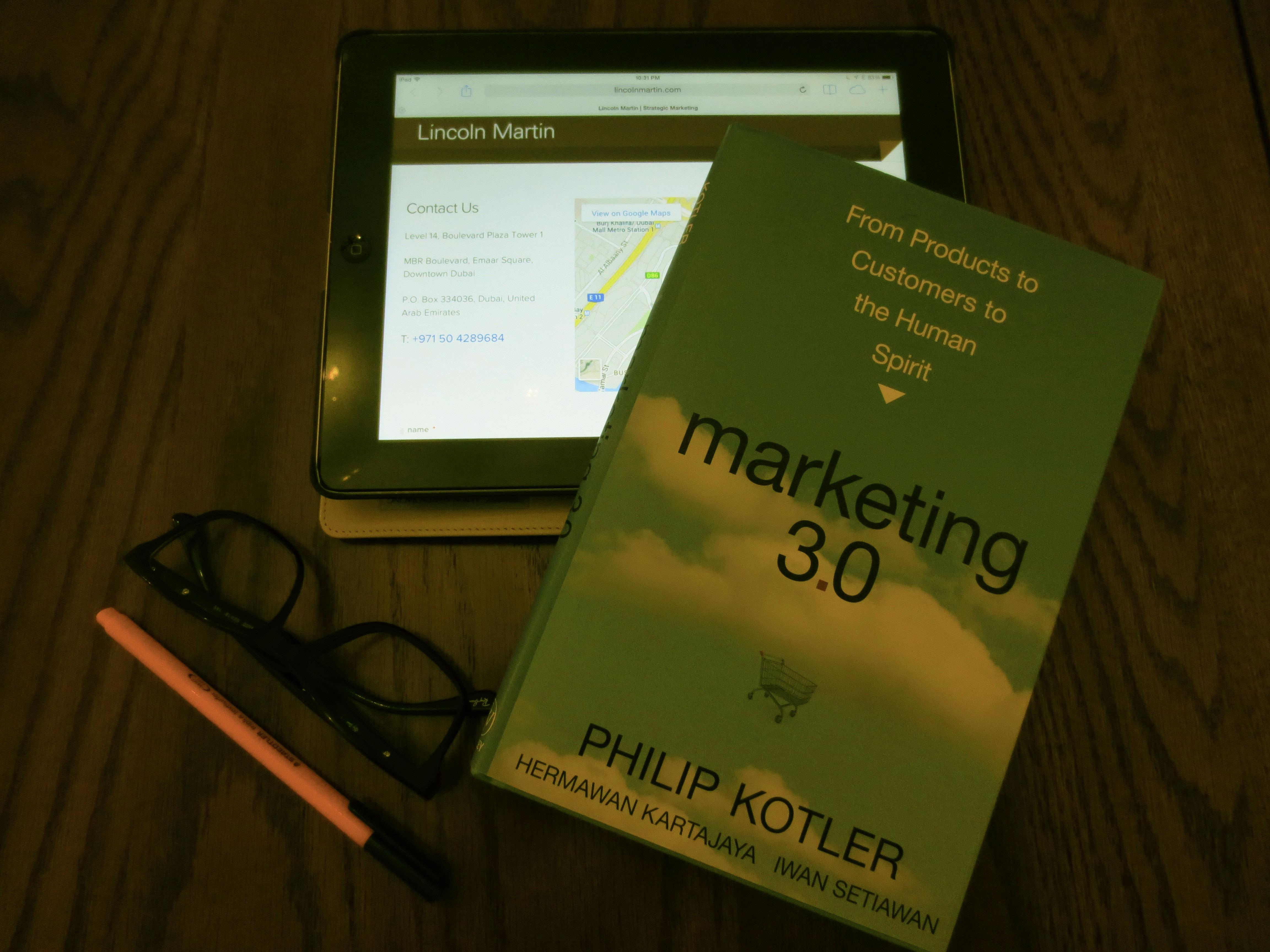 philip kotler's marketing 3.0 book review