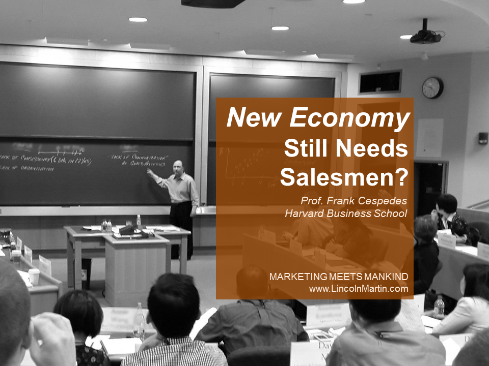 Why the New Economy Still Needs Salesmen