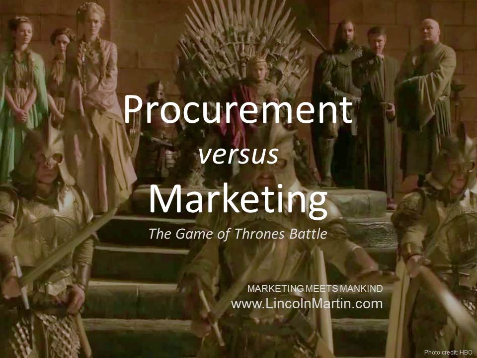 Procurement vs Marketing: The Battle for Quality