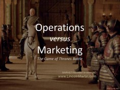 Operations vs Marketing: The Legendary Conflict